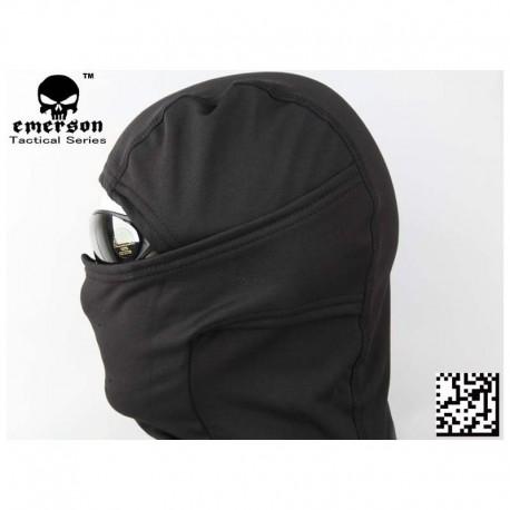 EMERSON Fleece Warmer Hood Nero