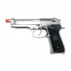 WE Beretta M92 a gas full metal chrome