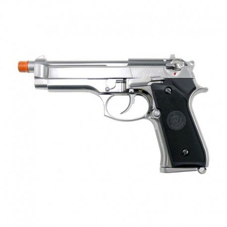 WE Beretta M92 a gas full metal chrome