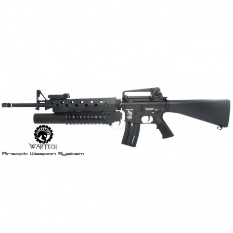 WarTech M16 M203 Full Metal
