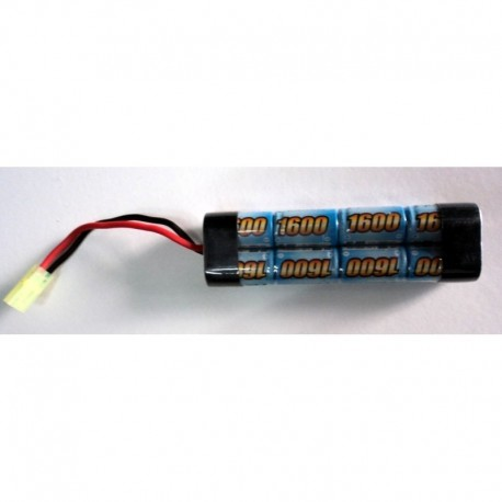 E-Power batteria Ni-Mh 9.6 x 1600 mini type