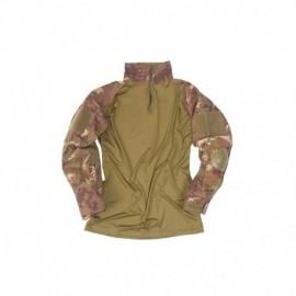 Mil-Tec Combat Tactical (con gomitiere) Shirt Vegetato