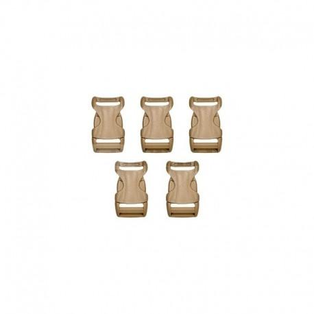 YKK Buckle fastex 25mm 5 pcs CB