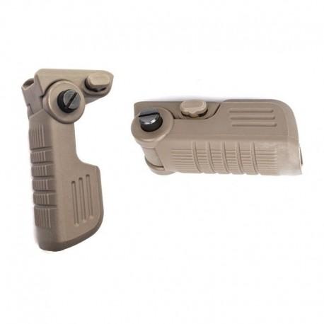BRAVO Mini Foldable Grip TAN