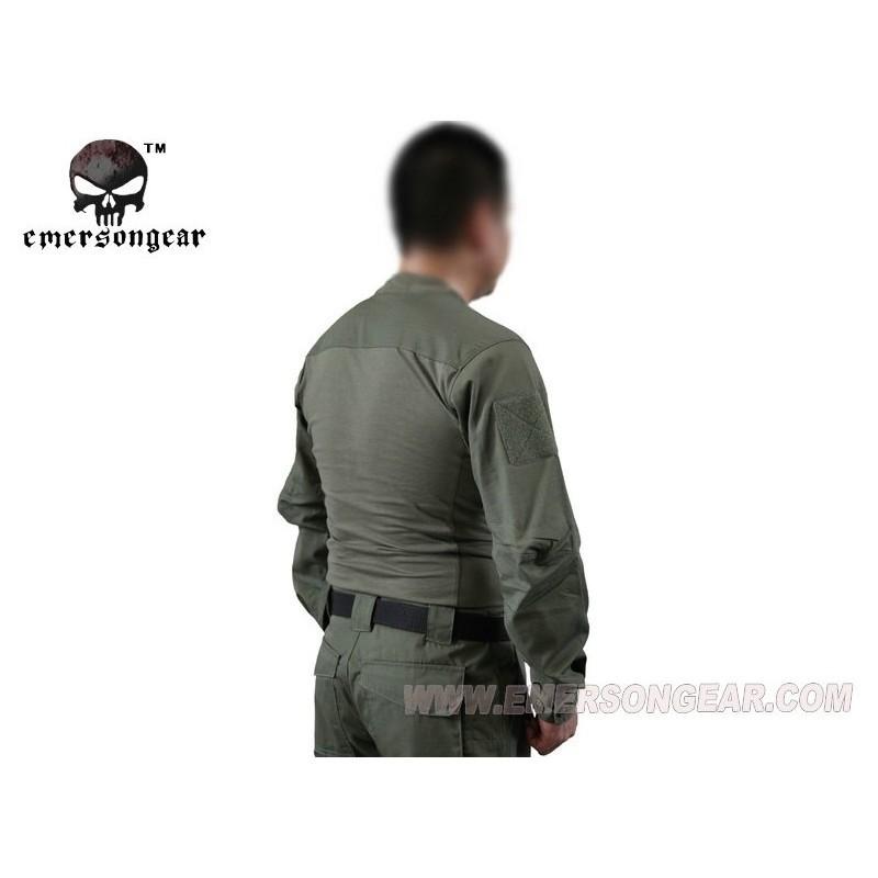 EMERSON Arc Talos Halfshell combat shirt OD Green - Tango