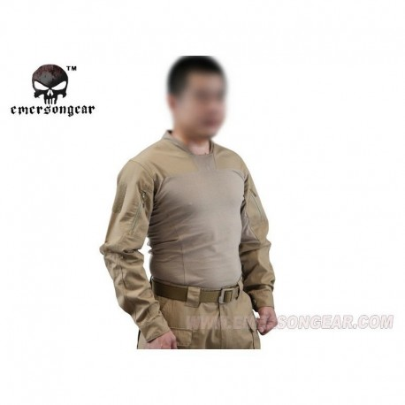 EMERSON Arc Talos Halfshell combat shirt  Tan