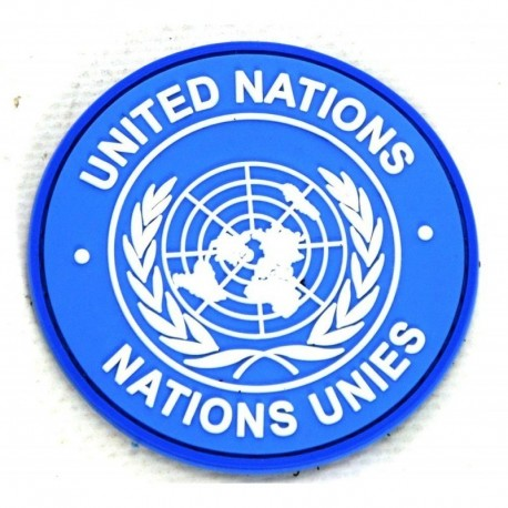 JTG United Nations Rubber Patch