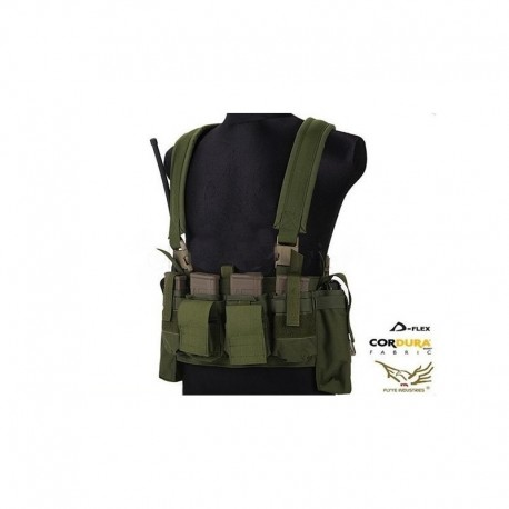 FLYYE LBT M4 Tactical Chest Vest OD Green