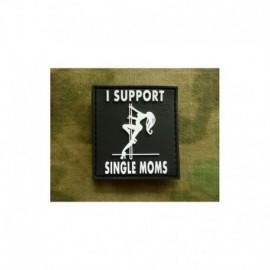 JTG I Support single Moms  Rubber Patch