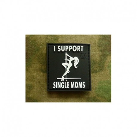 JTG I Support single Moms  Rubber Patch