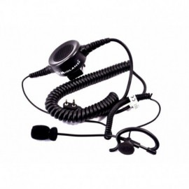 Midland Action Line auricolare con microfono a braccetto e PTT tipo military