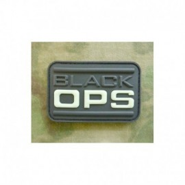 JTG Black OPS Rubber Patch Glow