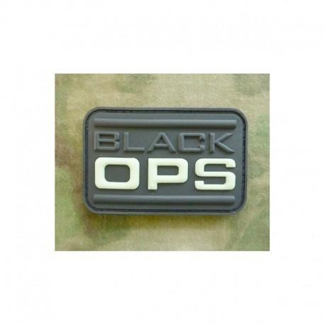 JTG Black OPS Rubber Patch Glow