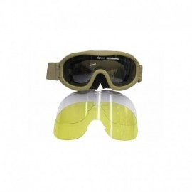 Royal goggle antifog 3 lensesTAN