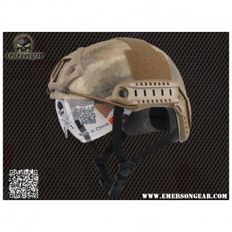 EMERSON Fast helmet MH with goggle AT