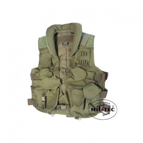 Mil-Tec SWAT tactical vest OD Green