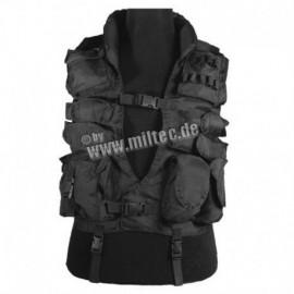 Mil-Tec giubotto tattico SWAT Nero