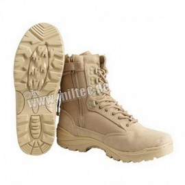 Full leather tactical Boots Tan