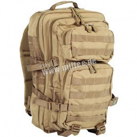 Mil-Tec Assault Backpack Coyote Brown Large3 days