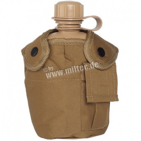 U.S. Water bottle 1 lt Coyote Brown