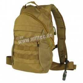 Mil-Tec Camel backpack MOLLE system Coyote Brown