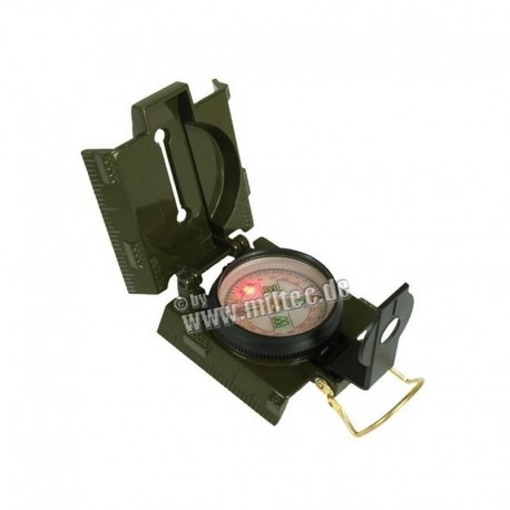 Mil-Tec metal compass with led light