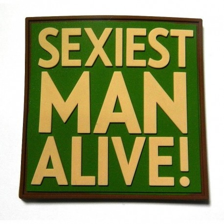 JTG Sexiest Man Alive Rubber Patch Multicamo