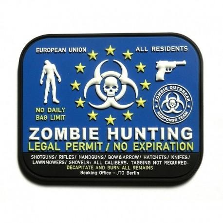 JTG Zombie Hunter Rubber Patch NATO