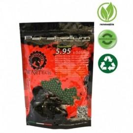 WarTech Pallini BIO PARABELLUM hi grade 0.20gr Dark Green