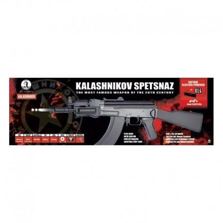 Cybergun Kalashnikov AK BETA Spetsznaz with 2 magazines