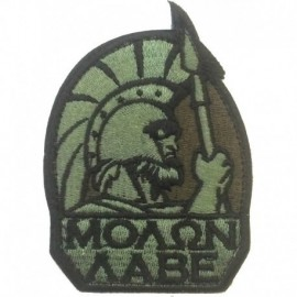 Molon Embroidery Patch Foliage Green