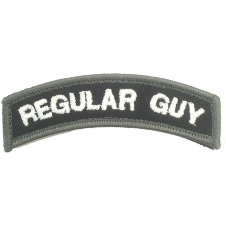 Regular Guy Embroidery Patch
