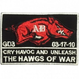 Hawgs of War Embroidery Patch