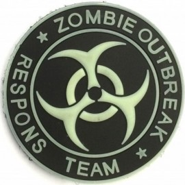EMERSON Zombie Outbreak Rubber Patch Glow in the Dark