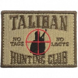 Taliban Hunting Club Embroidery Patch Tan