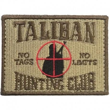 Taliban Hunting Club Embroidery Patch Tan