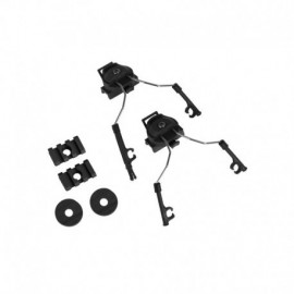 ZTAC Kit Comtac I/II per elmetto fast / ARC rail BK