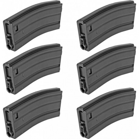 Cybergun M4 magazine 300bbs kit 6 pcs