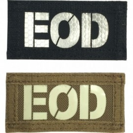EOD IR Callsigns two tone Velcro