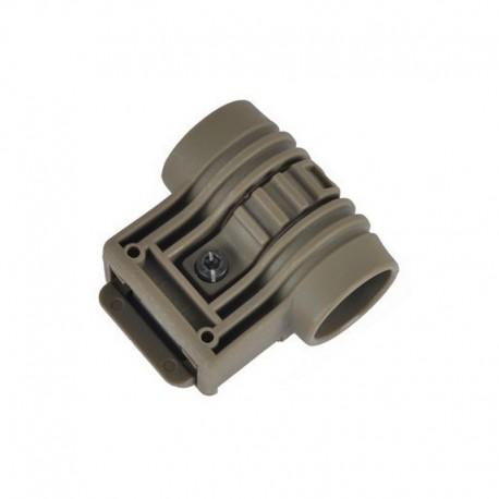 ELE Tactical Flashlight mount DE