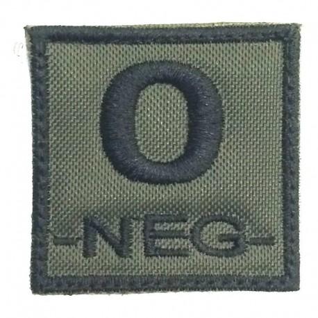 Defcon 0 Neg Patch OD Green