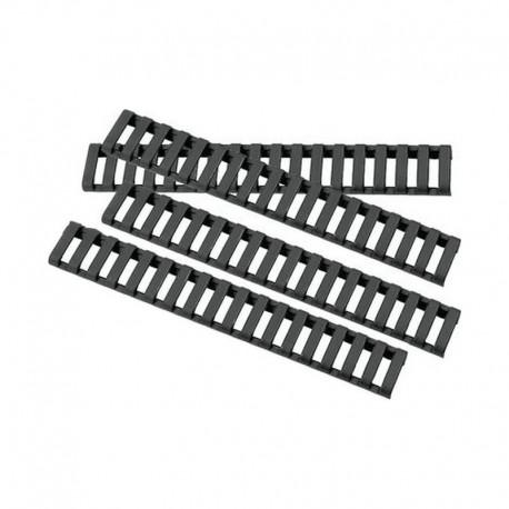 Ergo Ladder Rubber rail cover Black