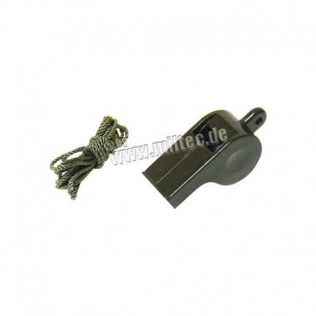 Mil-Tec Military Whistle OD Green