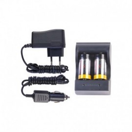 NexTORCH 3.0V Rechargeable Battery Kit CR123