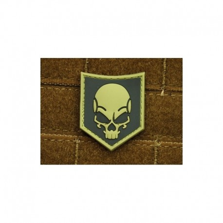 JTG SOF Skull Rubber Patch ACU
