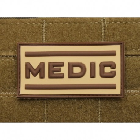JTG Medic Rubber Patch TAN