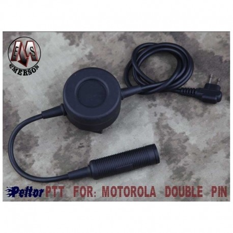"EMERSON PTT ""TCI"" FOR MOTOROLA DOUBLE PIN"