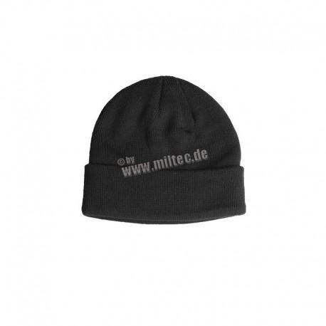 Mil-Tec Wool Cap Black