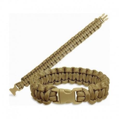 MFH Paracord Bracelet Tan