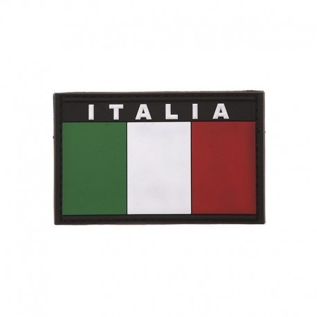 Italia Flag Rubber Patch